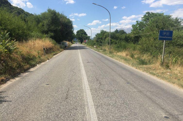Monitoraggio strade provincia dell'Aquila
