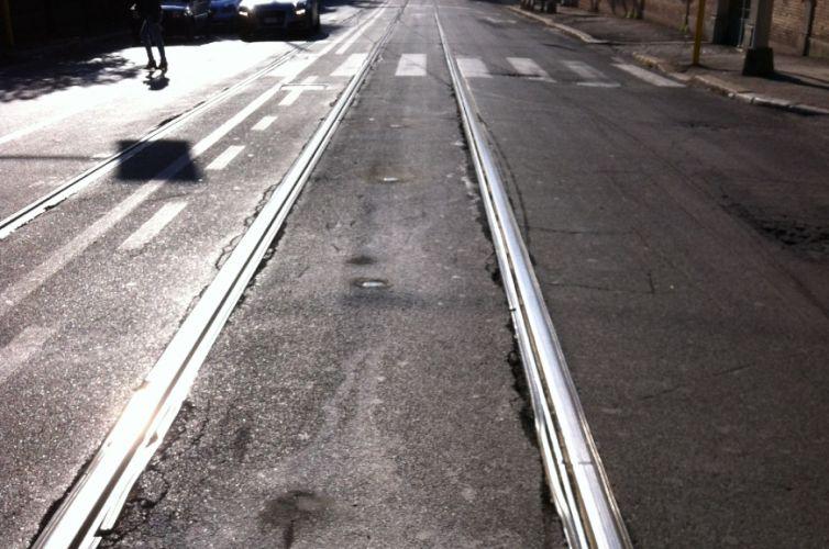 Regolazione semaforica tram Roma Aldrovandi