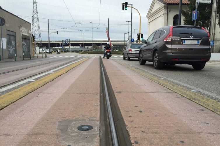 Regolazione semaforica tram Padova