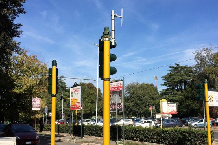 Traffic light control in Rome Flaminio