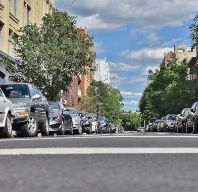 on-street parking